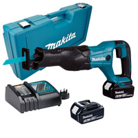 Makita DJR186RME 18v Reciprocating Saw w/ 2x 4.0ah from Toolden