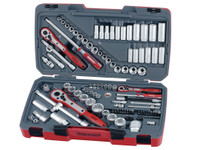 Teng TM111 111 Piece Tool Set AF/Metric 1/4 3/8 1/2in Drive | Toolden