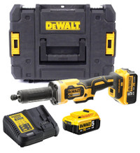 Dewalt DCG426P2 18V XR Brushless 125mm Die Grinder + 2 Batteries