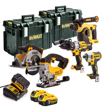 Dewalt DCK533TD 18v 5 Piece Kit | Toolden