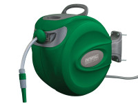 Faithfull Auto Hose Reel With Wall Bracket 30m