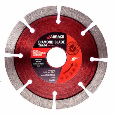 Abracs ABDD115M Trade General Purpose Diamond Blade 125mm