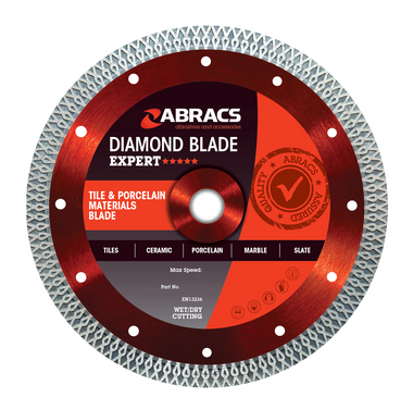 Abracs ABDCR230 Tile & Porcelain Diamond Blade 230mm