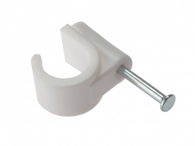11mm Masonry Nail Pipe Clip 100 Box
