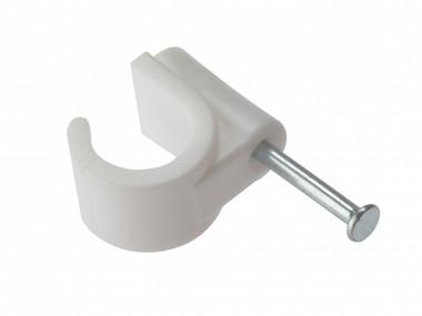 16mm Masonry Nail Pipe Clip 100 Box
