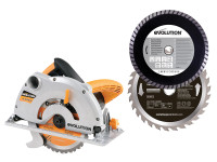 Evolution RAGE-1B Circular Saw Pro-Pack 1200W 110V