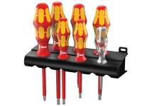 Wera Kraftform Plus VDE Series 100 Screwdriver Set of 7 SL/PZ
