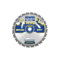 IRWIN Weldtec Circular Saw Blade 184 x 16mm x 24T ATB