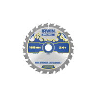 IRWIN Weldtec Cordless Circular Saw Blade 165 x 20mm x 24T ATB