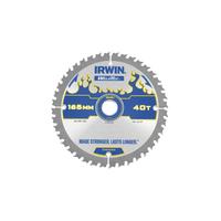 IRWIN Weldtec Cordless Circular Saw Blade 165 x 20mm x 40T ATB