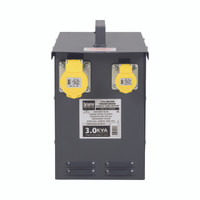 Defender 3kVA Heater Transformer 1x 32A and 1 16A Outlet 110V