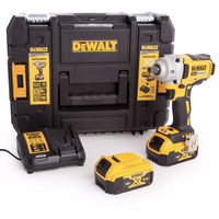 "Dewalt DCF894P2 18v XR 1/2"" Impact Wrench with 2 x 5.0Ah Batteries"