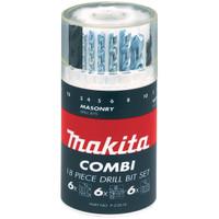 Makita P-23818 18 Piece Mixed Drill Bit Set from Toolden.