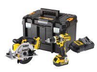 DeWalt DCK205M2T 18v XR 2 Piece Kit,2 x 4.0Ah Li-ion Batteries & Multi Charger From Toolden.