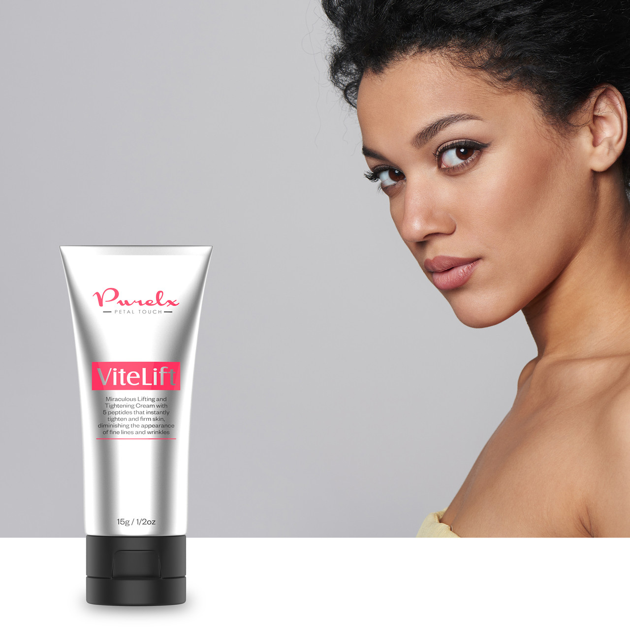 Look the age you feel with ViteLift Instant Lift Serum.