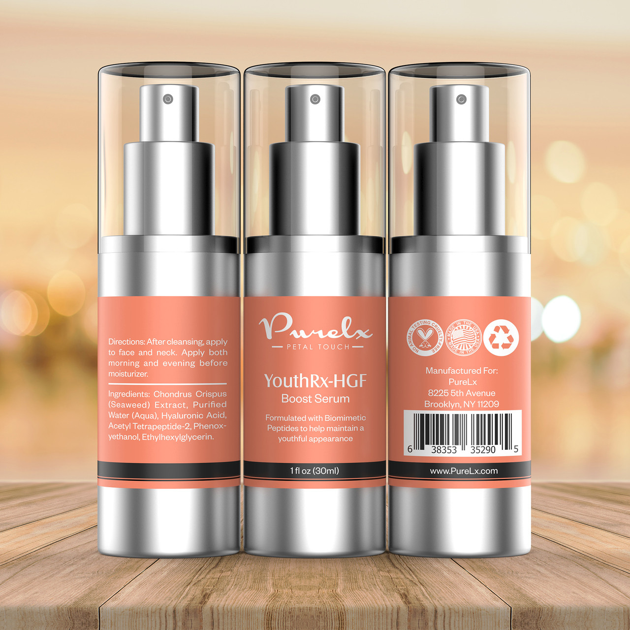 Powerful anti-aging serum stimulates the immune response boosting epidermal regeneration - a fountain of youth of sorts, provides nourishing, soothing, moisturizing and anti-inflammatory effects.