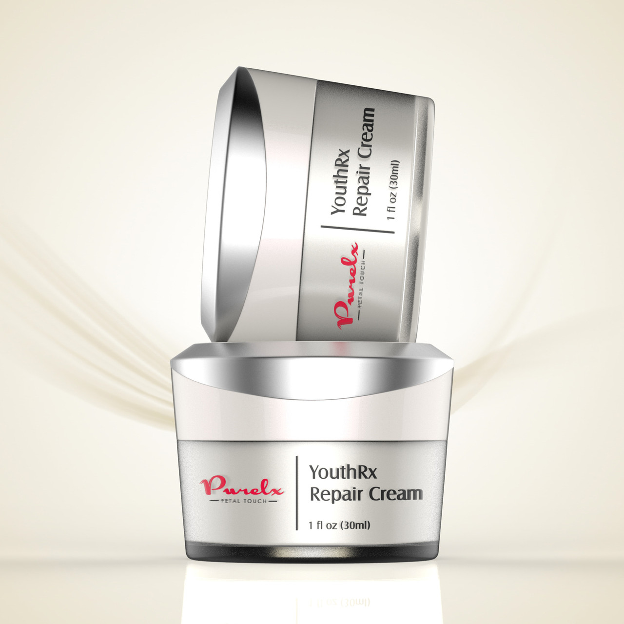 YouthRx Repair Cream - repairs, restores and moisturizes your face while you sleep.