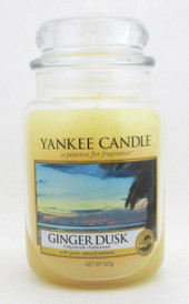 Yankee Candle Ginger Dusk 623 g/ 22 oz Large Jar Brand New