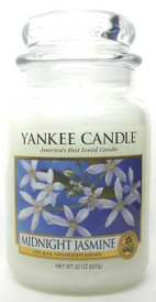 Yankee Candle Midnight Jasmine 22 oz./ 623 gr.Large Jar.Brand New.
