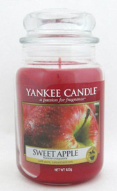 Yankee Candle Sweet Apple 623 g/ 22 oz Large Jar Brand New
