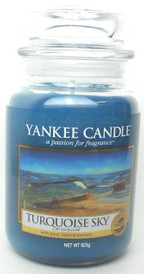 Yankee Candle Turquoise Sky 22 oz./ 623 gr.Large Jar.Brand New