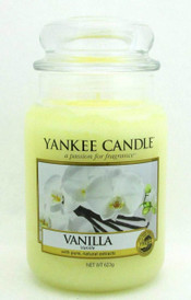 Yankee Candle Vanilla 623 g/ 22 oz Large Jar Brand New