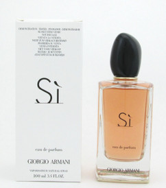 Si by Giorgio Armani Eau De Parfum Spray Tester For Women 100 ml./ 3.4 oz.