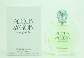 Acqua Di Gioia Eau Fraiche by Giorgio Armani Eau De Toilette Spray Tester For Women 50 ml./ 1.7 oz.
