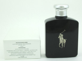 Polo Black by Ralph Lauren Eau De Toilette Spray Tester For Men 125 ml./ 4.2 oz.