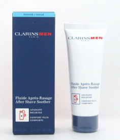 Clarins Men After Shave Soother 75 ml./ 2.7 oz NIB Sealed Tube
