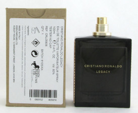 Cristiano Ronaldo Legacy Eau de Toilette Spray 3.4 oz. for Men *Tester