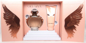 Olympea by Paco Rabanne 2.7 oz.EDP Spray+3.4 oz.Lotion.Brand New Set in Hard Box