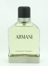 Armani Eau Pour Homme by Giorgio Armani Eau De Toilette Spray Unboxed for Men 3.4 oz/ 100 ml