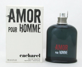 Amor Pour Homme by Cacharel Eau De Toilette Spray Tester for Men 125 ml./ 4.2 oz.