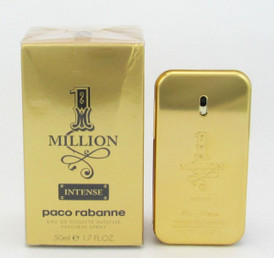 1 Million Intense by Paco Rabanne EDT Spray for Men 1.7oz*Damaged Box
