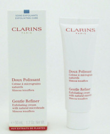 Clarins Gentle Refiner Exfoliating Cream With Natural Microbeads 50 ml/1.7 ozNIB
