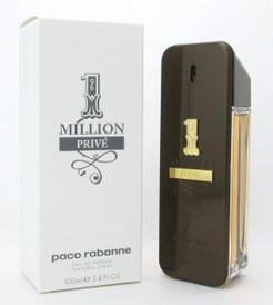 1 Million Prive by Paco Rabanne Eau De Parfum Spray for Men Tester 100 ml./ 3.4 oz.