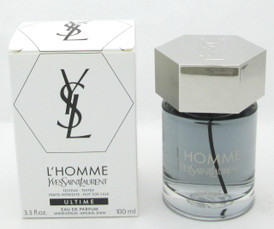 YSL L'Homme ULTIME Eau De Parfum Spray Tester for Men 3.3 oz/100 ml