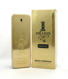 1 Million Intense by Paco Rabanne EDT Spray for Men 3.4 oz /100 ml New Damaged Box