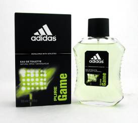 Adidas PURE GAME Eau de Toilette Spray 3.4 oz./ 100 ml. for Men. Brand New.