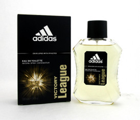 Adidas VICTORY LEAGUE Eau de Toilette Spray 3.4 oz./ 100 ml. for Men. Brand New.