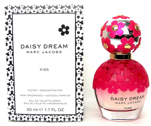 Marc Jacobs Daisy Dream Kiss 1.7 oz./50 ml.EDT Spray. Brand New Tester with Cap.