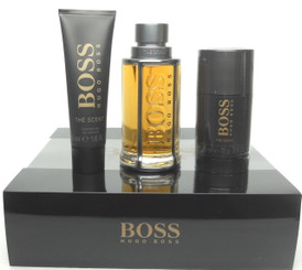 Boss The Scent by Hugo Boss for Men 3.3 oz.EDT +1.6 oz.Gel+ Deo Stick. New Set.