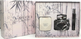 Gucci BAMBOO by Gucci 2.5 oz.Eau de Perfum Spray + 3.3 oz.Perfumed Body lotion + 0.25 oz.EDP Fragrance Pen. New Set.