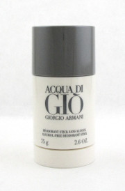 Acqua Di Gio by Giorgio Armani 2.6 oz Alcohol Free Deo.Stick for Men New Sealed