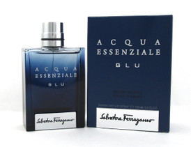 Acqua Essenziale BLU Cologne by Salvatore Ferragamo 3.4 oz. EDT Spray for Men New Sealed