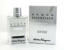 Acqua Essenziale Colonia by Salvatore Ferragamo 3.4 oz. EDT Spray for Men New Sealed