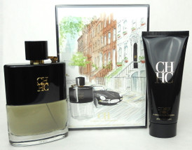 CH Men Prive Cologne by Carolina Herrera 2 Pieces Travel Set