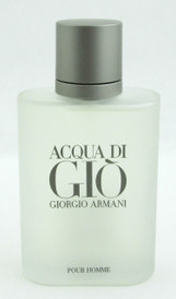 Acqua di Gio Giorgio Armani EDT Spray Tester for Men 3.4 oz./100 ml.
