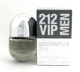 212 VIP MEN Cologne by Carolina Herrera 0.68 oz./ 20 ml. EDT Spray New in box